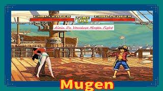 Mugen : One Piece : Boa Hancock Vs Luffy (My Battle)