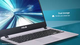 ASUS VivoBook X407 Product video