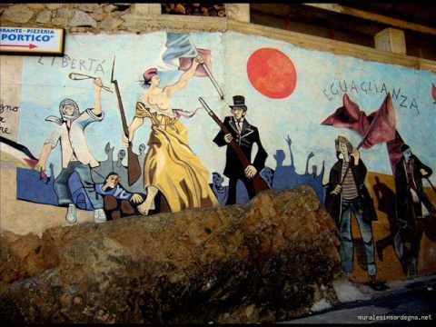 Murales di Orgosolo e Pratobello per la Sovranità Popolare