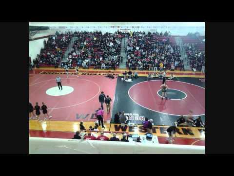 West Delaware vs Western Dubuque 1 23 14