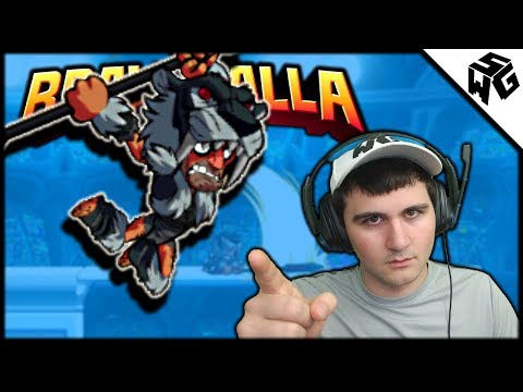 Road to Diamond S7 Ranked Gnash 1v1's - Brawlhalla Gameplay :: I Read Your Comments!