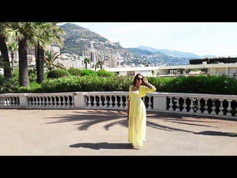 Поездка с семьей в Монте-Карло. Княжество Монако. Огромная чайка.
