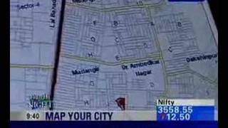 MapmyIndia.com on NDTV profit 10/2006