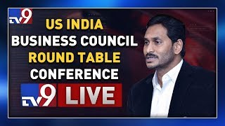 YS Jagan Participation in US India Business Council Round Table Conference || Washington D.C