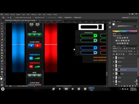 Crear Skins para VirtualDj desde 0 - Curso Part.4