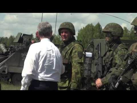 The Secretary of the Army Visits the 173rd in Lithuania