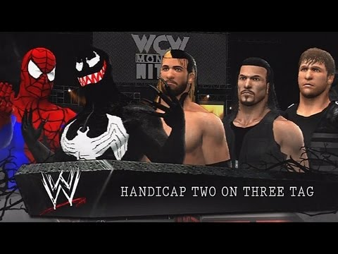 WWE '13: The Shield vs Spider-Man & Venom