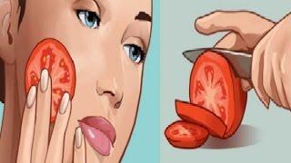 Chà một lát cà chua lên mặt trong 3 phút, bạn sẽ sốc vì kết quả ngay sau đó