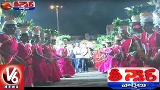 Golkonda Bonalu Commences Grandly In Hyderabad | Telangana Bonalu 2018 | Teenmaar News