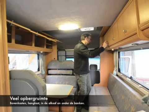 VW Karmann Missouri Camper in vogelvlucht - YouTube