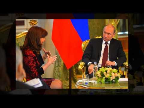 Cristina Kirchner with Vladimir Putin in Russia   #Politics, #Worldnews