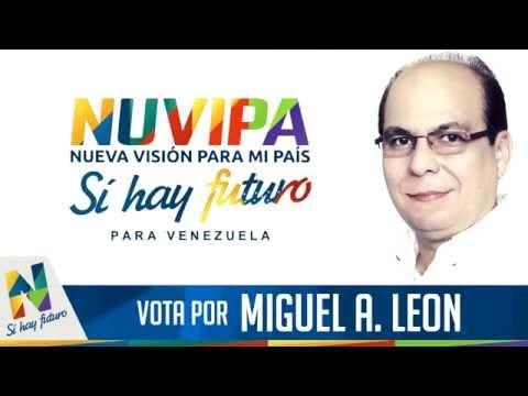Jingle para radio (versión video) Con Nuvipa y Miguel A. León, sí hay futuro en Venezuela.