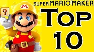 Super Mario Maker TOP 10 BEST COURSES (Wii U)