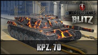 World of Tanks Blitz - Kpz. 70 / MBT 70 [ deutsch | gameplay ]