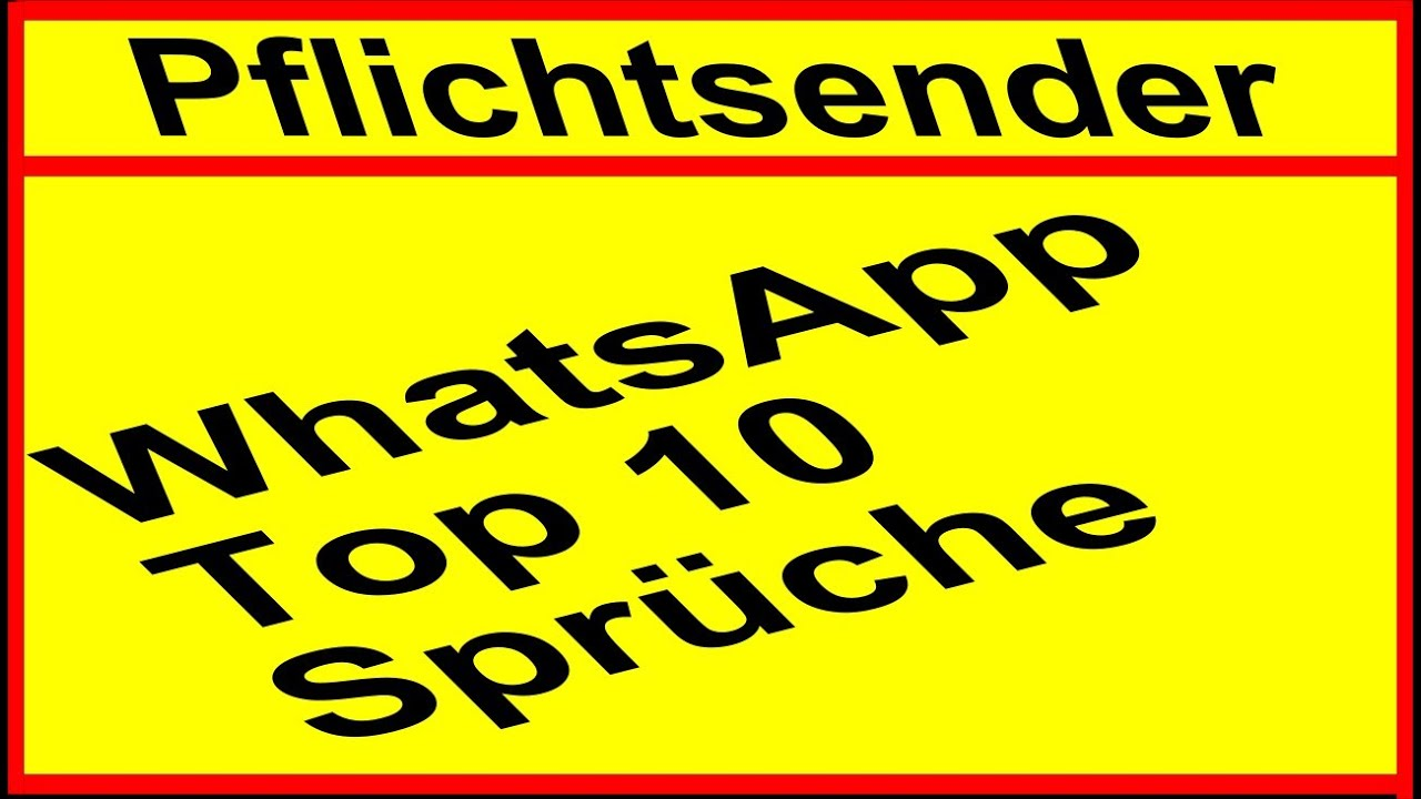 whatsapp die top 10 lustigsten status spr che f r whatsapp youtube. Black Bedroom Furniture Sets. Home Design Ideas