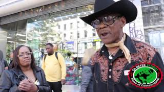 The CowBoy Comes To Harlem To Teach