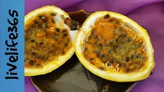 How to...Eat Passion Fruit