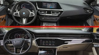 2019 BMW Z4 vs 2019 Audi A7 Interior Design Detailed