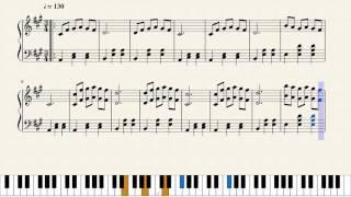 La La Land - Mia and Sebastian's Theme - Piano Sheet Music