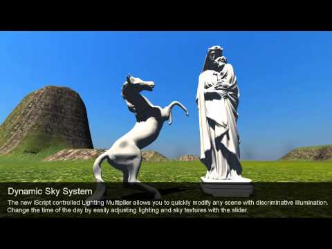 iClone5 Functional Demo – Dynamic Sky System
