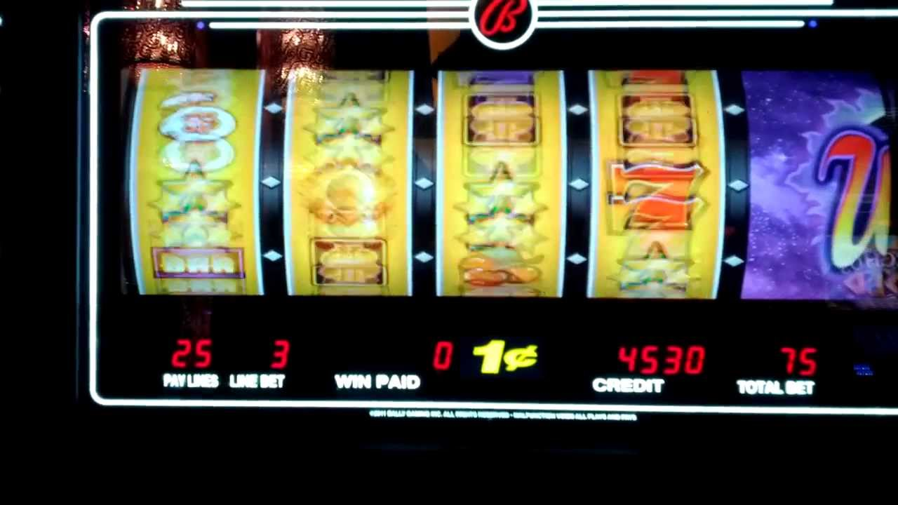 slot machine bonus