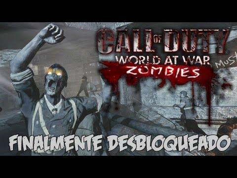 COD World At War Nazi Zombies - UNLOCKED!