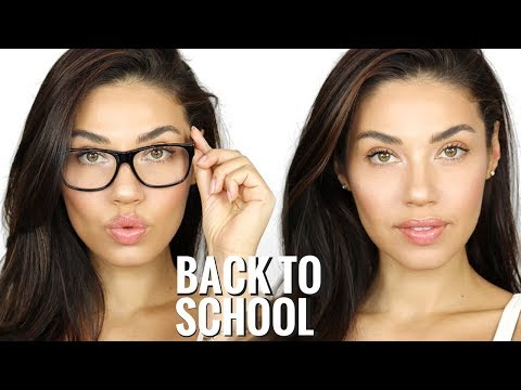 Back To School Makeup Tutorial   Quick & Easy 5 Minute Makeup   Eman