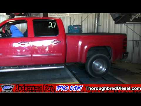 2010 Chevy Silverado Diesel - Michael Eldridge Dyno Run