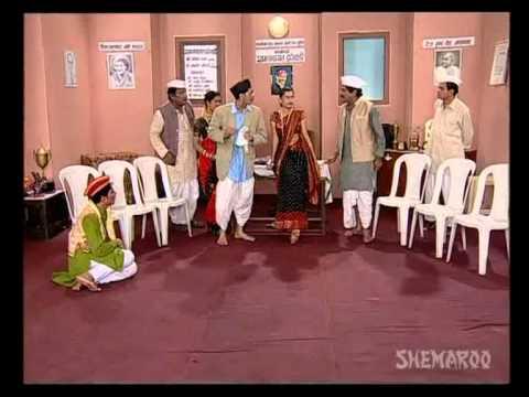 Courtesan Seducing Cops - Marathi Comedy Scene video