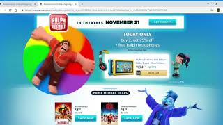 Ralph Breaks The Internet On Amazon