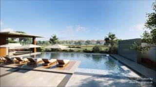 High-end residential living Dubai, HD CGI architectural animation