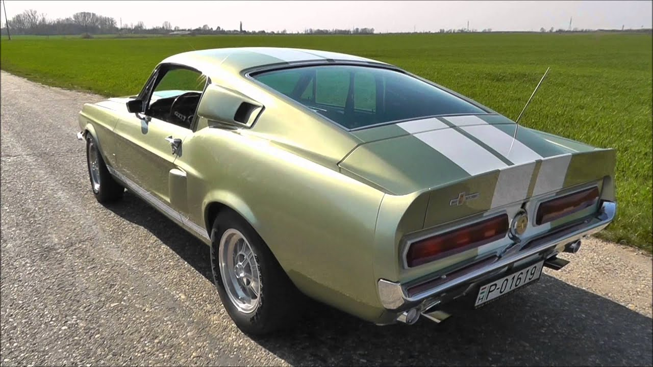 1967 Shelby Gt500 Revving And Accelerations Youtube