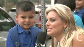Reporter Makes A Kid Cry During Interview! New Video