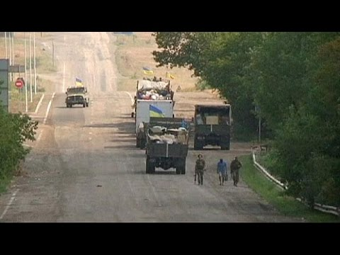 Ukraine claims breakthrough in rebel stronghold of Luhansk
