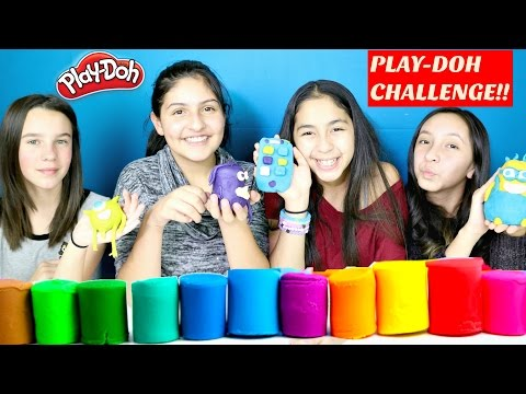 Play Doh Challenge With My Friends-Tuesday Play-Doh B2cutecupcakes