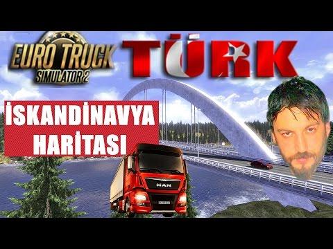 İskandinavya DLC | Euro Truck Simulator 2 Türkçe