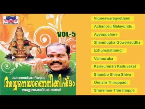 Ayyaneyanenikkishtam Vol 5   Ayyappa Bhakthi Ganangal   Malayalam video