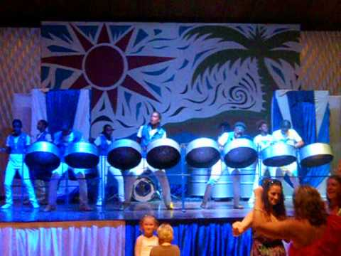 Beaches Negril Jamaica Steel Drum Band 6/16/12
