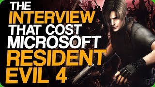 The Interview That Cost Microsoft Resident Evil 4 (Awesome Video Games Moves)