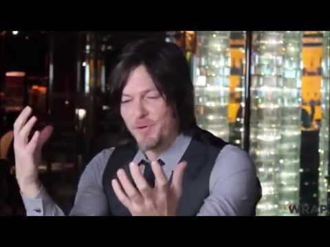 Norman Reedus TWD funny interview moments