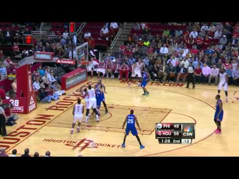 Philadelphia 76ers vs Houston Rockets | March 27, 2014 | NBA 2013-14 Season