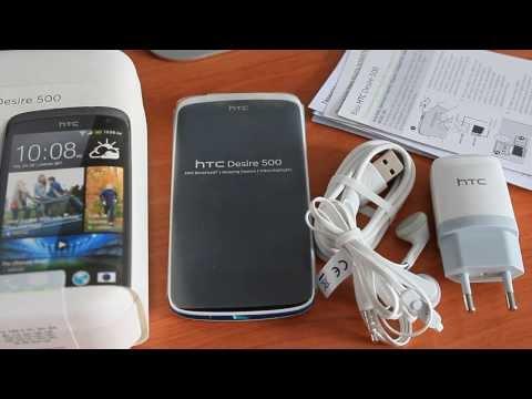 HTC Desire 500 Обзор