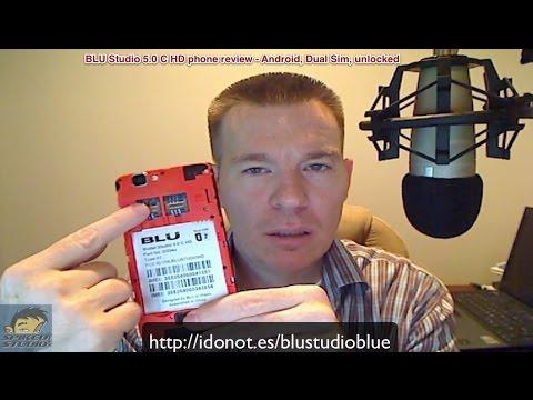 Blu Studio 5.0 C HD Android phone review