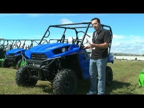 2012 Kawasaki Teryx 4 Side-x-Side video review