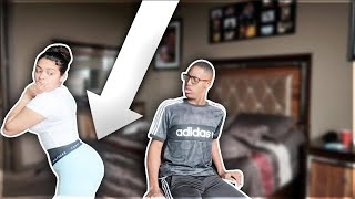 Wearing ANOTHER man BOXERS prank on boyfriend! **HE KICKED ME OUT**