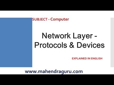 Digi Page - Computer - Network Layer - Protocols & Devices - 28.04.2016 : English Version