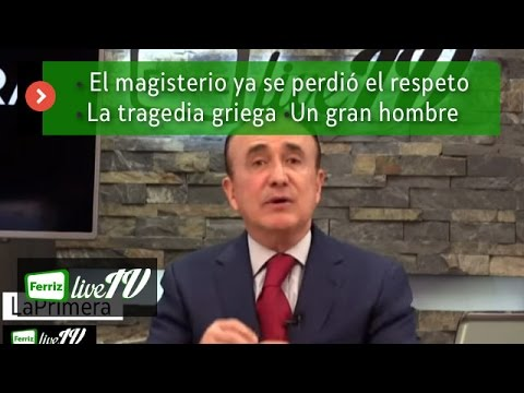 Ferriz LIVE TV- 6 de Julio, 2015-Programa 124