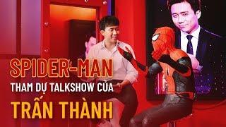 Spider-Man về Việt Nam ăn bánh tráng trộn, tham dự show mới của Trấn Thành