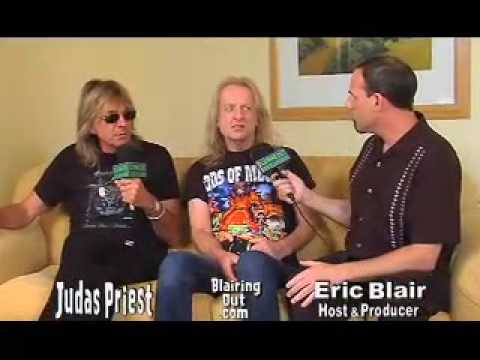 Judas Priest's KK Downing&Glen Tipton talk to Eric Blair 2009