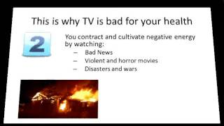 How to stop watching TV and why should you do it